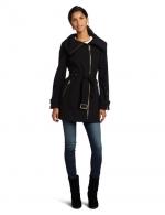 Belle's coat in black at Amazon