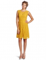 Belle's yellow lace dress at Amazon