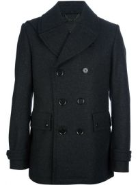 Belstaff Double Breasted Coat - at Farfetch