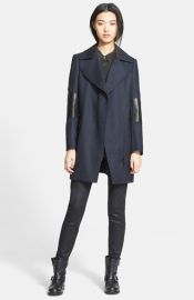 Belstaff and39Paxfordand39 Textured Wool Coat at Nordstrom