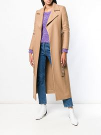 Belted Coat at Farfetch