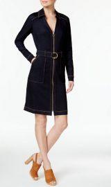 Belted Denim Dress at Macys
