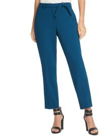 Belted Essex Ankle Pant by DKNY at Macys