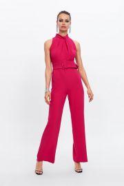 Belted Jumpsuit at Zara