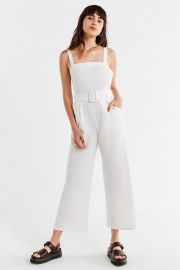 Belted Jumspuit at Urban Outfitters