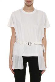 Belted Long T-shirt by Noir Kei Ninomiya at Italist