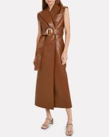 Belted Longline Vest by Materiel at Intermix