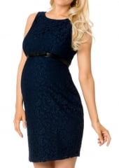 Belted Maternity Dress at A Pea in the Pod