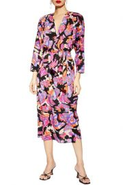 Belted Midi Dress by Topshop at Nordstrom Rack