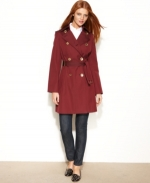 Belted Trench Coat by Michael Kors at Macys
