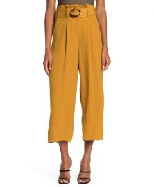 Belted Wide Leg Pants by Moon River at Nordstrom Rack
