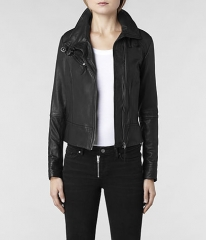 Belvedere Leather Jacket at All Saints