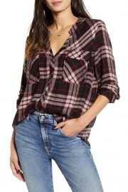 Bentley Plaid Flannel Shirt by Rails at Nordstrom Rack