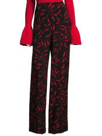 Benton Printed Wide-Leg Pants by Diane von Furstenberg at Saks Off 5th
