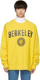 Berkeley Printed Sweatshirt by Calvin Klein at Ssense
