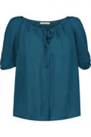 Berkeley silk blouse at The Outnet