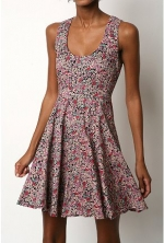 Bernadette's floral dress at Urban Outfitters at Urban Outfitters