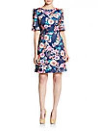 Betsey Johnson - Floral A-Line Dress at Saks Off 5th