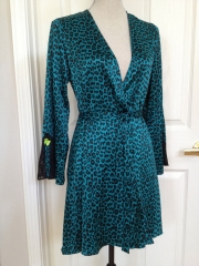 Betsey Johnson Leopard Print Robe at eBay