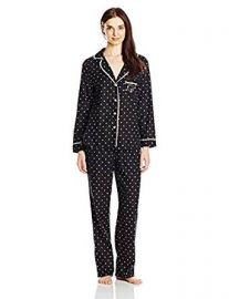 Betsey Johnson Women s Packaged Flannel Pajama Set at Amazon