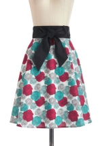 Betseys rose print skirt at Modcloth