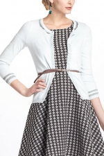 Betsey's white cardigan from Anthropologie at Anthropologie