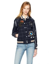 Bettie Varsity Jacket by William Rast at Amazon