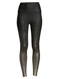 Beyond Yoga - Drip Dot High-Waisted Leggings at Saks Fifth Avenue