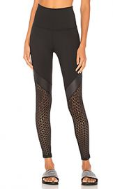 Beyond Yoga Perfect Angles High Waisted Midi Legging in Black from Revolve com at Revolve