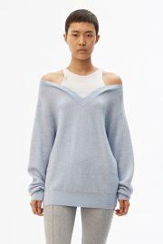 Bi Layer Sweater at Alexander Wang