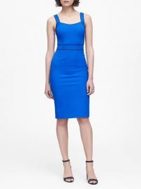 Bi-Stretch Sheath Dress by Banana Republic at Banana Republic