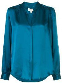 Bianca loose-fit silk shirt at Farfetch