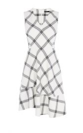 Bias Check Dress at Karen Millen