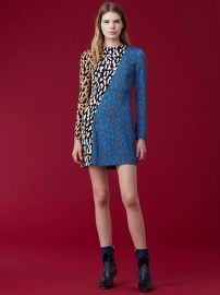 Bias Fitted dress at DvF
