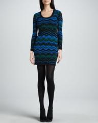 Bias Plaid Dress by M Missoni at Neiman Marcus