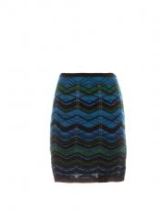 Bias plaid skirt by M Missoni at Scoop NYC
