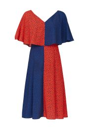 Bicolored Handkerchief Dress by Derek Lam Collective at Rent The Runway