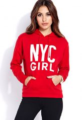 Big City Girl Hoodie at Forever 21