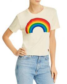 Big Rainbow Graphic Boyfriend Tee at Bloomingdales