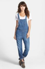 Big Star and39Heatherand39 Denim Overalls at Nordstrom
