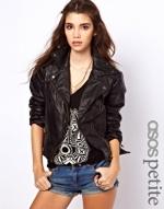 Biker jacket at ASOS at Asos