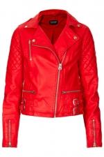 Biker jacket at Topshop at Topshop