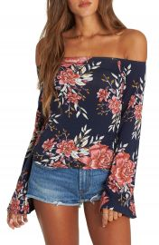 Billabong Come Around Off the Shoulder Top at Nordstrom