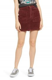 Billabong Magic Touch Corduroy Miniskirt   Nordstrom at Nordstrom