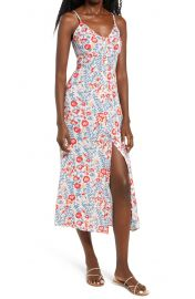 Billabong Sugared Life Midi Dress at Nordstrom