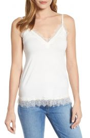 Billie lace trim tank at Nordstrom