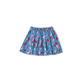 Bird Print Skirt at Petit Bateau