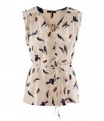 Bird blouse from H and M at H&m
