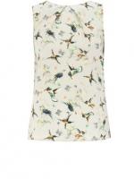 Bird print blouse at House of Fraser