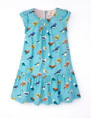 Bird print dress at Boden